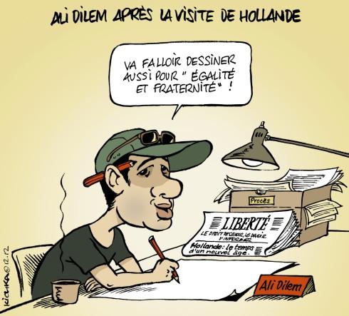 Hollande en Algérie
