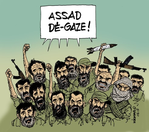 Assad dé-gaze