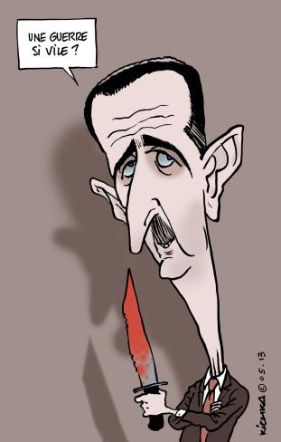 Bashar el Assad Mai 2013
