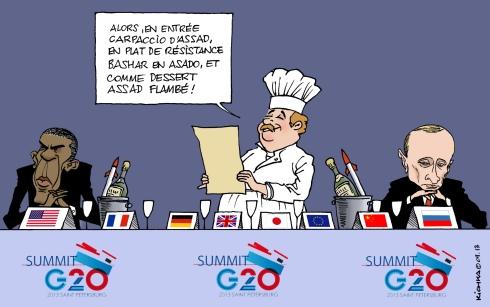 G 20 Obama Poutine