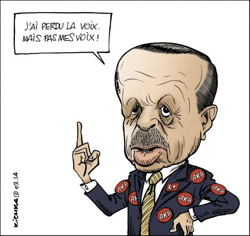Erdogan AKP municipales 2014