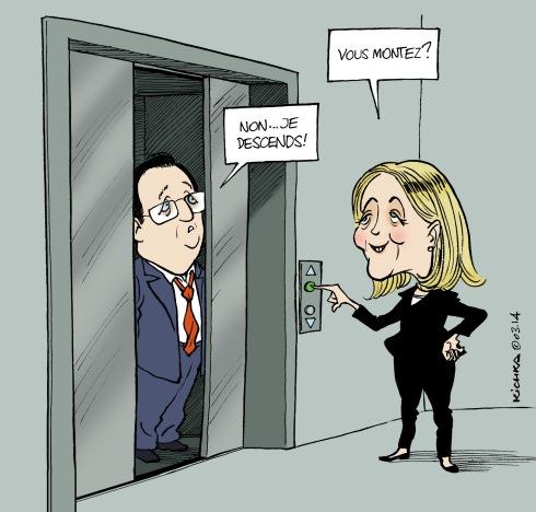 Le Pen Hollande Premier Tour