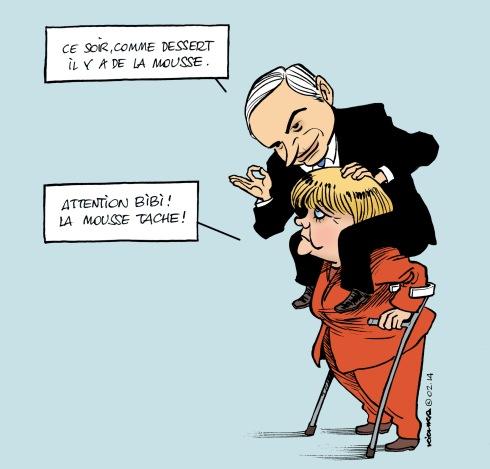 Merkel Bibi moustache