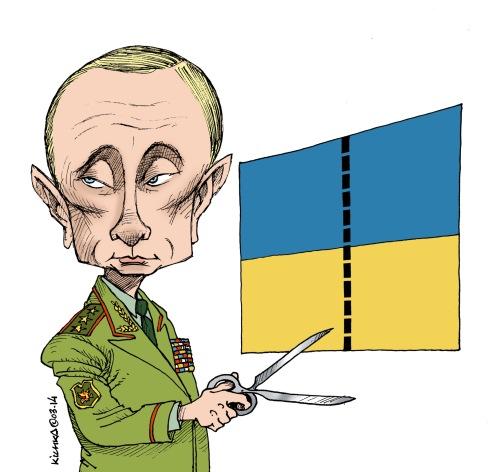 Poutine Ukraine Crimée