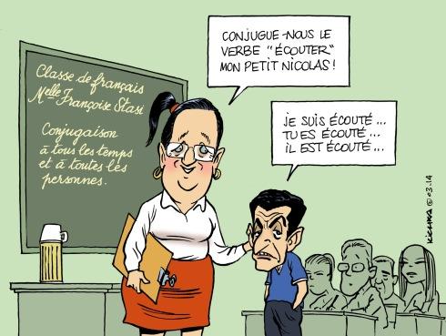 Sarkozy écoutes