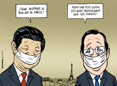 Xi Jinping en France