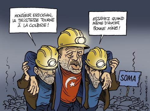 Erdogan mine de Soma