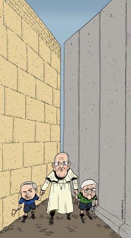 Pape Jerusalem