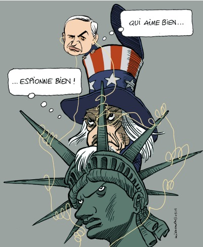 USA-Israel espionnage