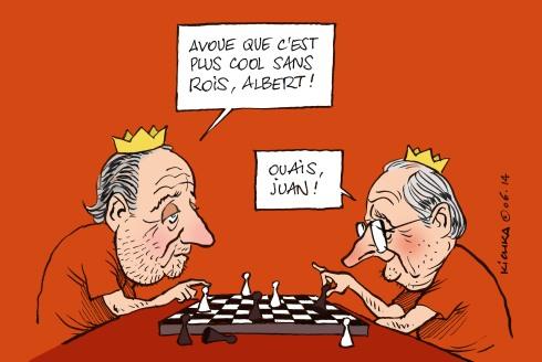 Juan Carlos et Albert 2