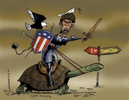 Obama in War