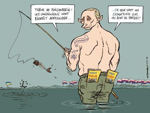 Putine Ukraine trêve