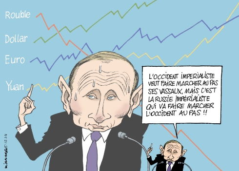Poutine rouble discours