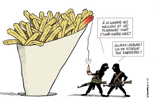 Terreur islamiste Belgique