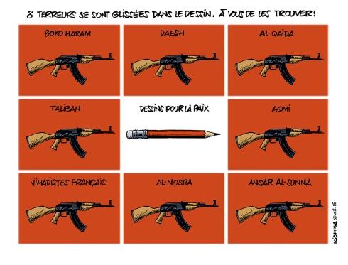 Huit terreurs-Le Monde