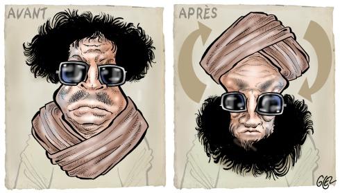 De Kadhafi au islamistes