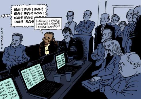 Bibi vs Obama