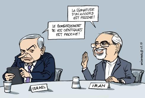 Israel et Iran 2015