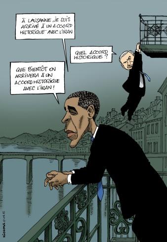 Obama Bibi et Iran