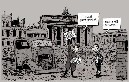 Berlin Hitler 1945