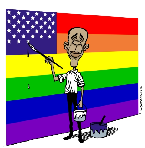 Obama gay marriage