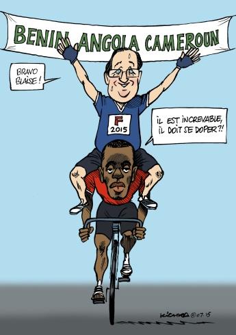 Hollande en Afrique