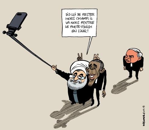 Iran Rouhani selfie 2015