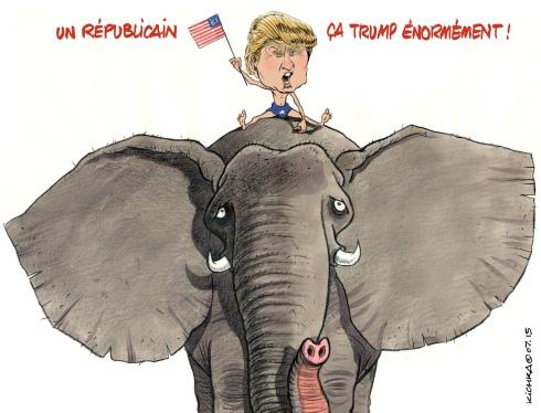 Trump trompe