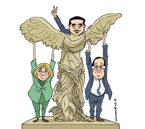 Tsipras et Samothrace