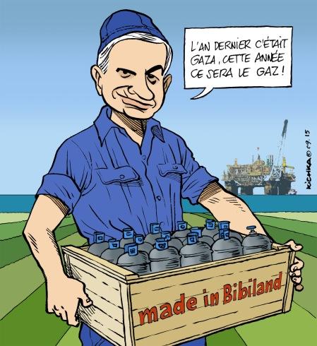 Bibi et le Gaz 2015
