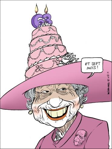 Queen Elizabeth 63 ans de reigne