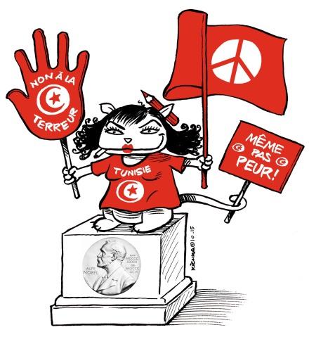 Tunisie Nobel de la Paix 2015