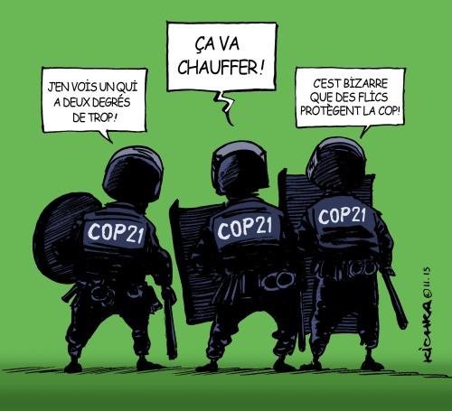 COP 21 et flics