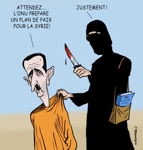 Syrie ONU Paix