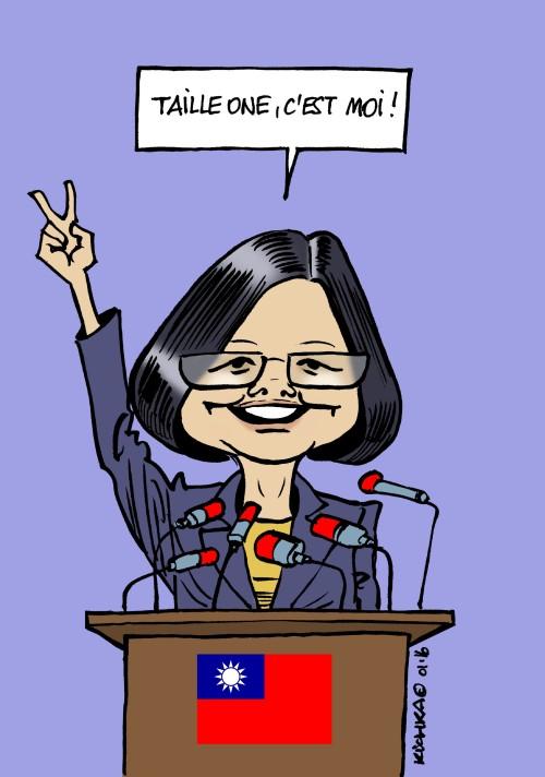 Taiwan Tsai Ing Wen