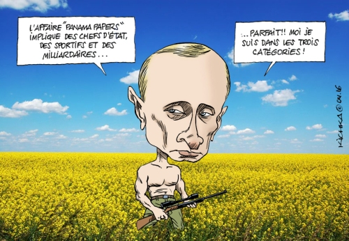 Panama Papers Poutine
