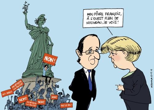 Verdun Hollande Merkel