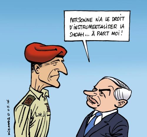 Yair Golan et Bibi