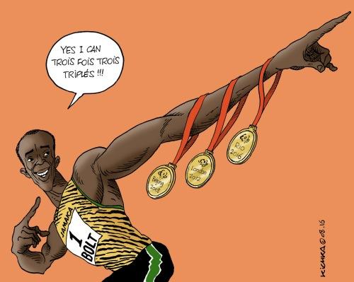 Bolt 3 triplés