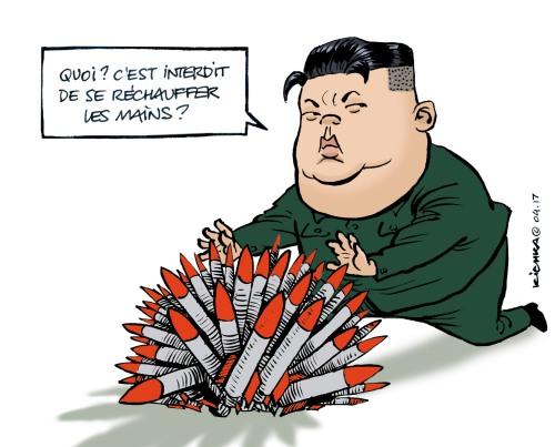 Kim Jong Un Avril 2017