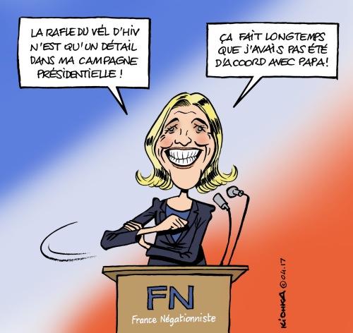 Le Pen Vel d'Hiv 2017