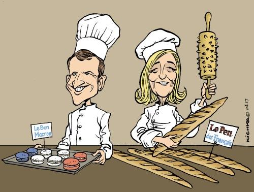 Macron Le Pen Avril 2017