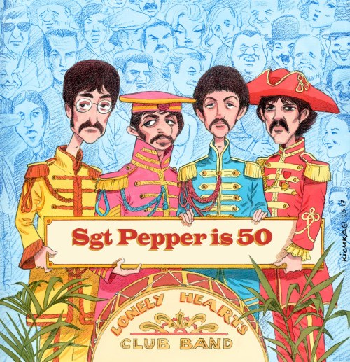 ‬Beatles Sgt Pepper‭