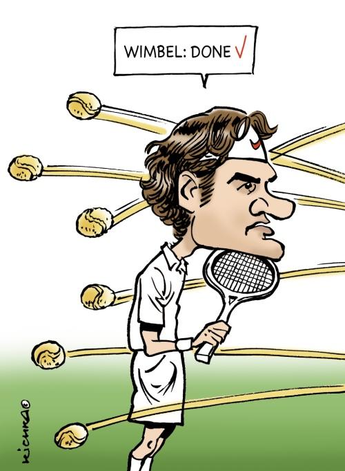 Federer Wimbeldon 2017