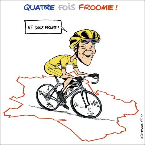 Froome Tour de France 2017