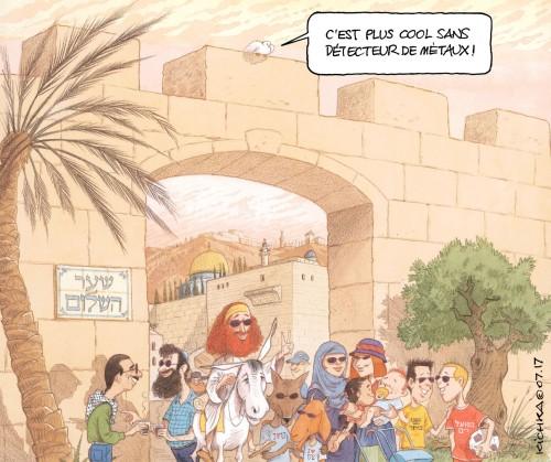 Jérusalem détectuer de métaux