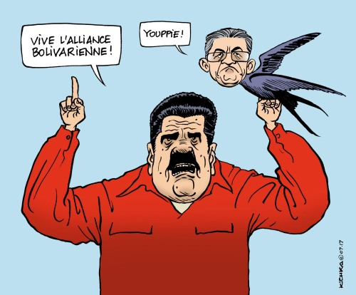 Maduro Mélenchon