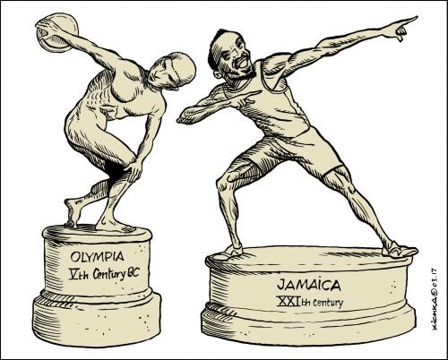Usain Bolt 2017 une page d'histoire