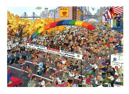 Marathon NYC 1992