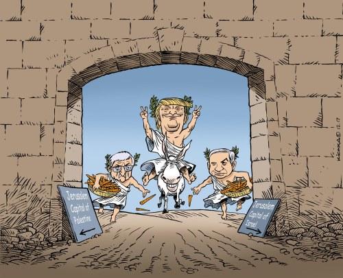 Trump Jerusalem Israel 2017